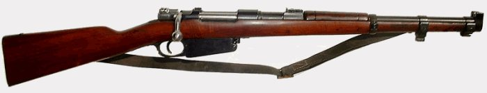 Mauser model 98 (Germany) / 1889 Belgian Mauser, 1891 Argentine