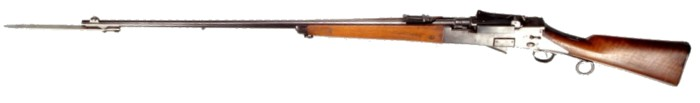 Madsen - Rasmussen M1888 self-loading rifle