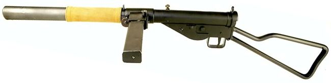 STEN submachine gun / machine carbine - Modern Firearms