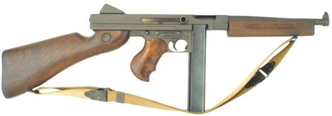 Thompson 1921 Submachine Gun - Modern Firearms
