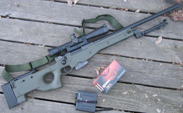 AI Arctic Warfare / L96 - Modern Firearms