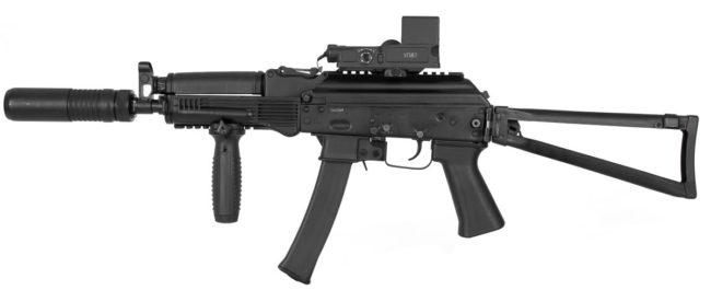 Vityaz-SN submachine gun