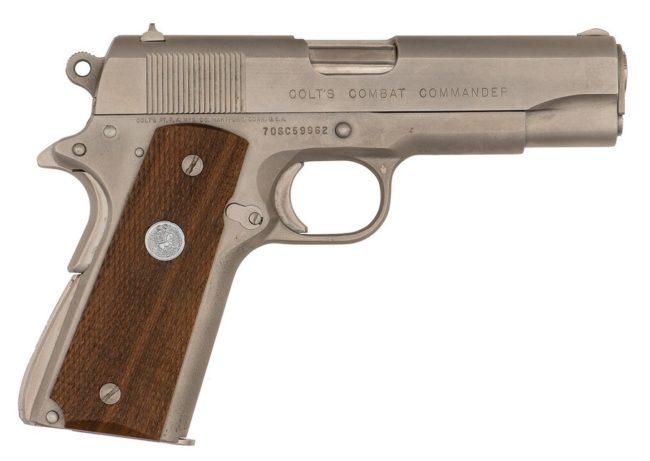компактный пистолет Colt Combat Commander