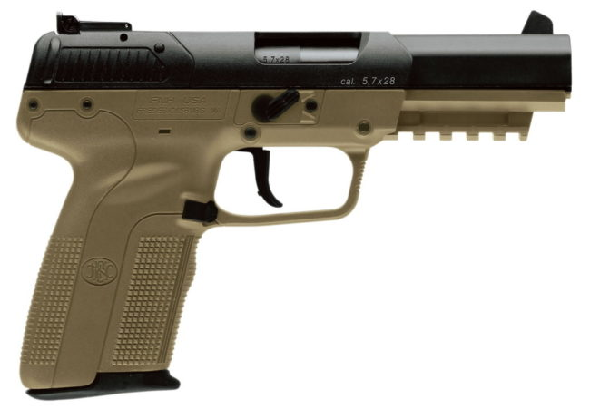 FN Five-seveN Tactical pistol.