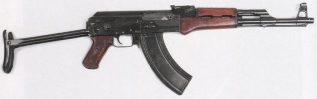 автомат Калашникова АК-47 №3, со складным прикладом
