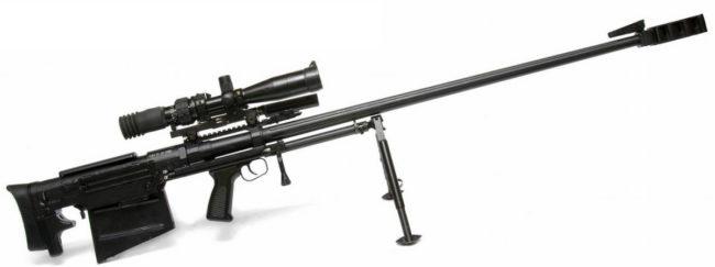 Крупнокалиберная снайперская винтовка 6В7М АСВК-М