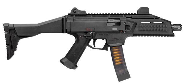Пистолет-пулемет CZ SCORPION EVO III