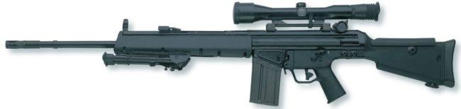 снайперская винтовка HK MSG90 А1