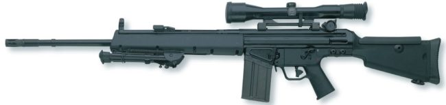 HK MSG90 А1 sniper rifle