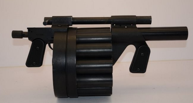 Hawk MM-1 grenade launcher