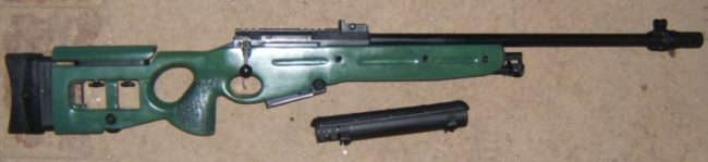 SV-98 sniper rifle, early version