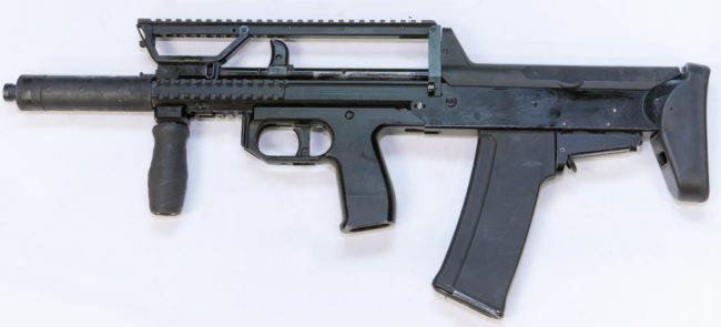 the 5,56-A91M, late version of the A-91M assault rifle in 5,56mm NATO