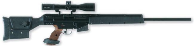Снайперская винтовка HK PSG1A1