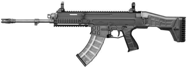CZ Bren 2 rifle chambered for 7.62x39mm ammunition