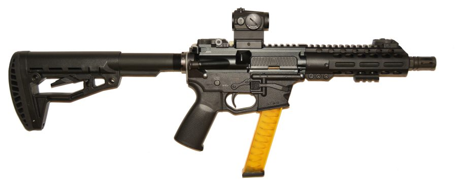 TARA TM-9 SMG submachine gun