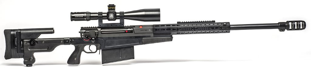 Accuracy International AX50 anti-material rifle