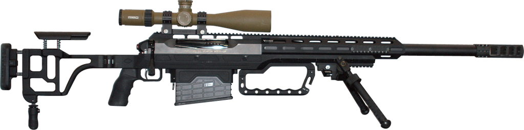 Beretta Corvus 12.7 large caliber sniper rifle