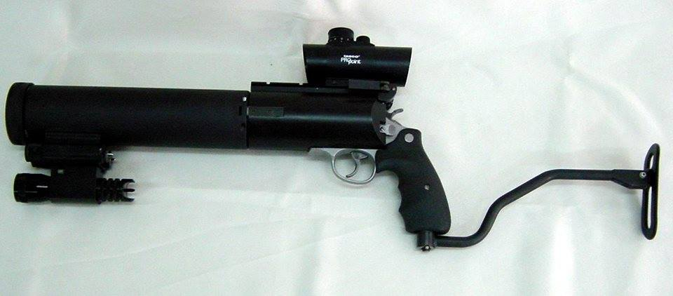 Peters PSDR III suppressed / silenced revolver