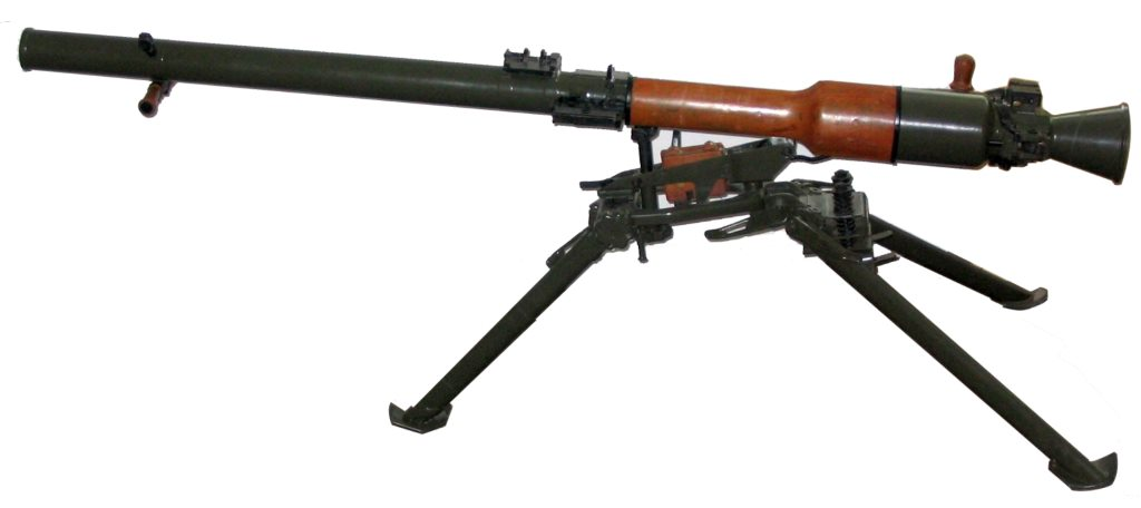 Станковый противотанковый гранатомет СПГ-9 «Копье»