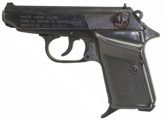 Carpati Md.95 semiautomatic pistol