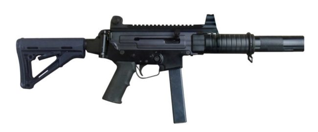 PINDAD PM2-V2 submachine gun