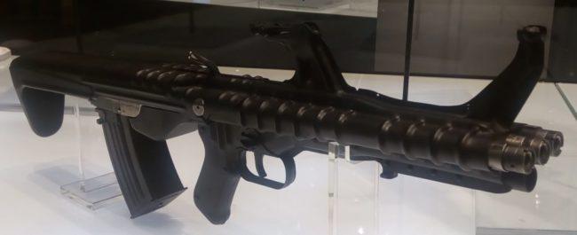 Трехствольный автомат ТКБ-059 конструкции Г.А.Коробова