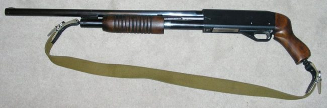 IZH-81 pump action shotgun