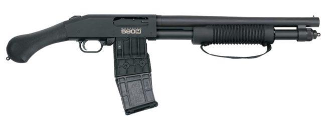 Гладкоствольное ружье Mossberg 590M Shockwave