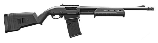 Remington 870DM shotgun Magpul