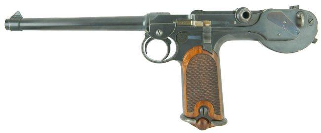 Пистолет Borchard C-93
