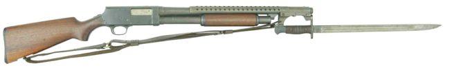 Гладкоствольное ружье Savage-Stevens model 520 Trench gun