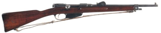 Dutch Mannlicher M1895 carbine for engineer troops