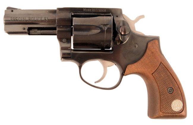 револьвер Manurhin Special Police F1