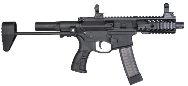 EMTAN MZ-9 submachine gun