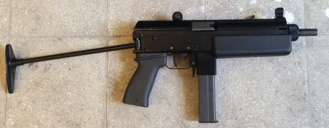 FEG KGP-9 submachine gun