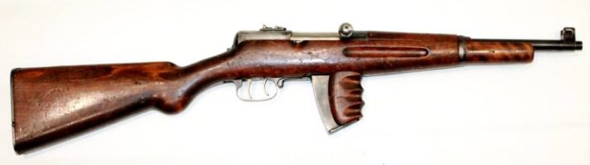 Tokarev model 1927 submachine gun