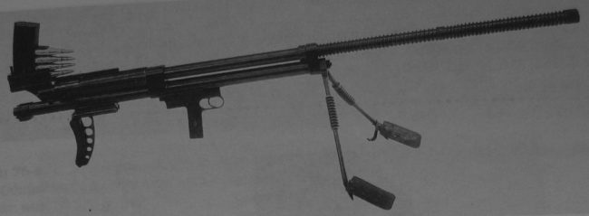 experimental Soviet anti-tank rifle by Bloom (1937)