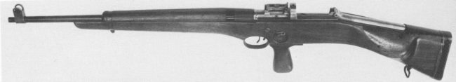 SREM-1 manually operated experimental sniper rifle (1944)