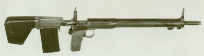 7.62mm US T31 experimental assault rifle, 1949