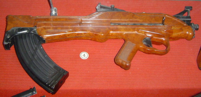 7.62mm Soviet TKB-022 experimental assault rifle by Korobov, 1962