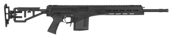 Kalashnikov MR1 rifle  in 308 Win, version with shortbarrel and fixed adjustable stock