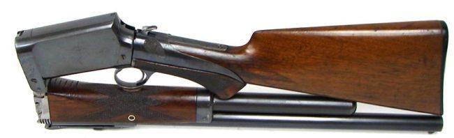 Гладкоствольное ружье Берджеса (Burgess police gun) в сложенном виде