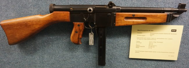 SIG MP-41 Neuhausen submachine gun