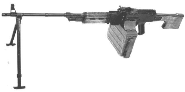 5.45mm PU-21 Experimental Machine Gun