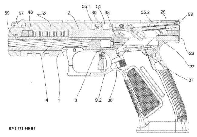 Самозарядный пистолет Laugo Alien