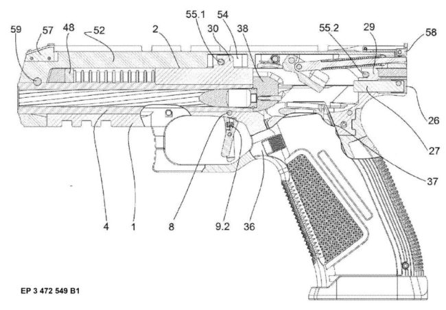 Laugo Alien semiautomatic pistol
