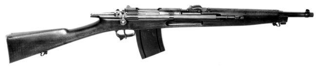 Cei-Rigotti automatic carbine