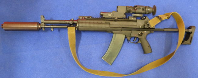 The A545 6P67 assault rifle, prototype from 2014