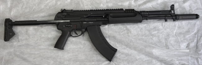 7,62x39mm A762 6P68 rifle, production version