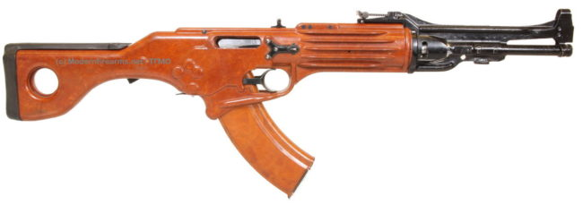 Korobov TKB-022P experimental assault rifle
